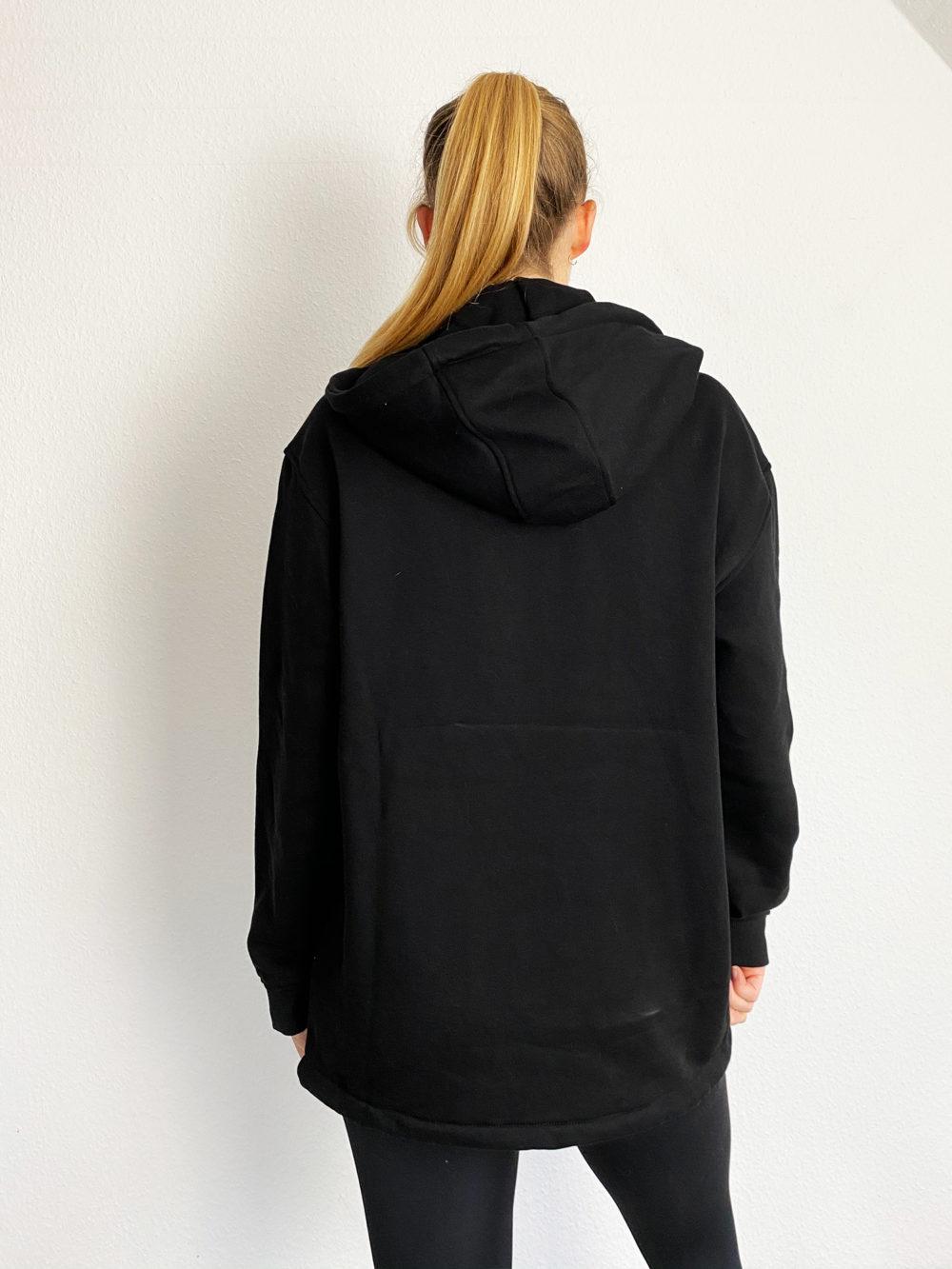 fitness zipper hoodie