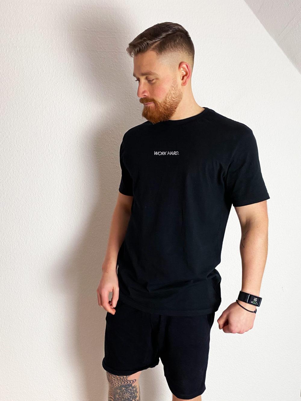 oversize Shirt Männer mit Stick