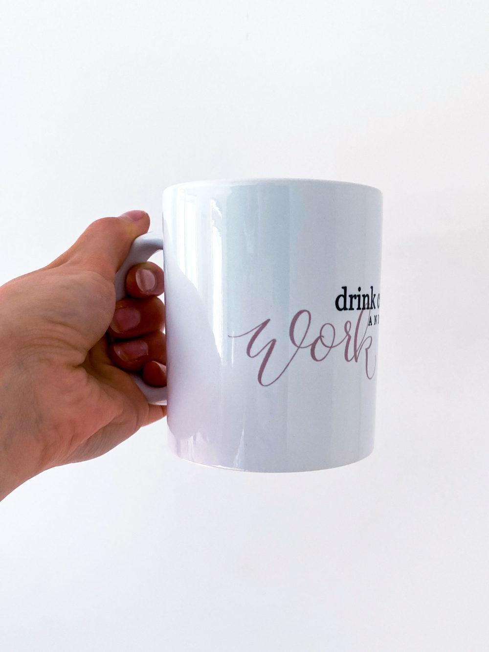 "Kaffee tasse ""workout"""