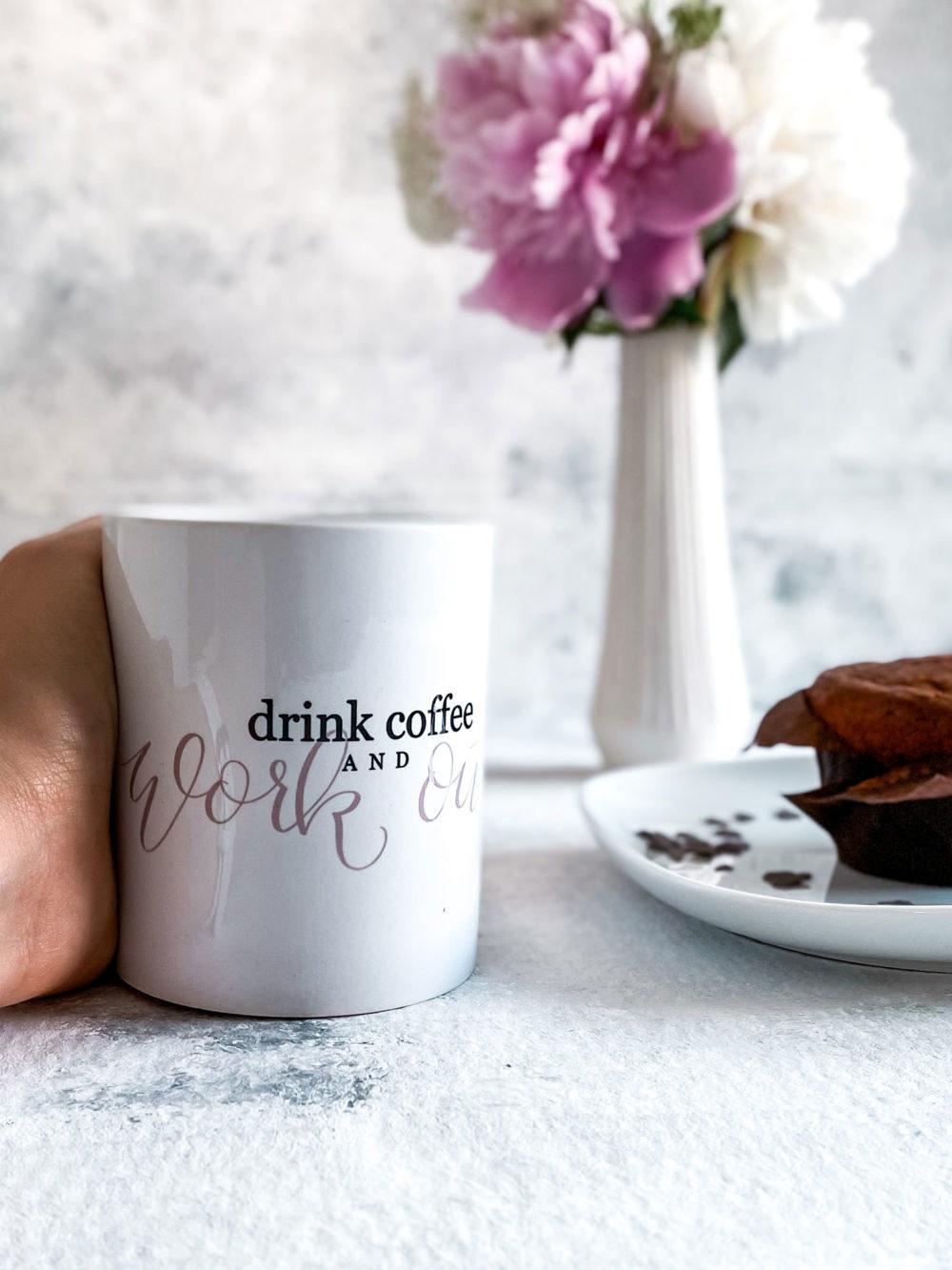 workout kaffeetasse